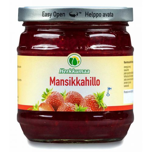 HERKKUMAA MANSIKKAHILLO 460 G