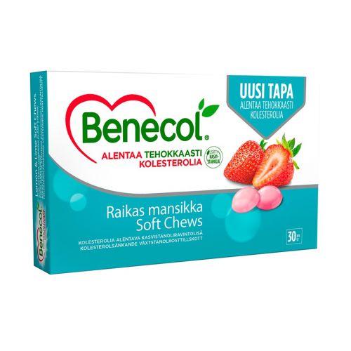 Benecol kasvistanoliesteritabletti mansikka 30kpl