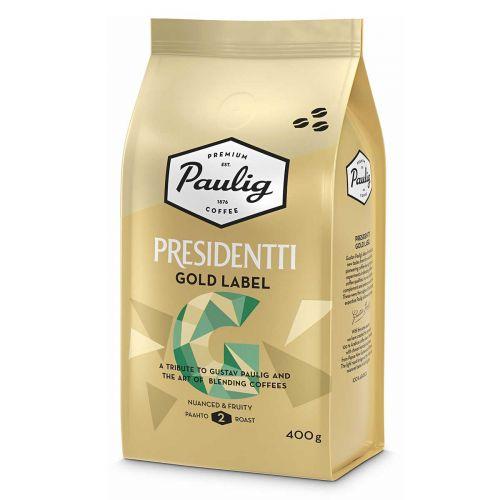 PAULIG PRESIDENTTI PAPUKAHVI GOLD LABEL 400 G