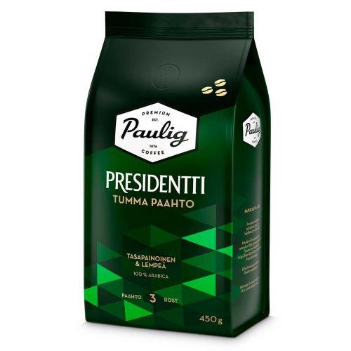 PAULIG PRESIDENTTI PAPUKAHVI TUMMA PAAHTO 450 G