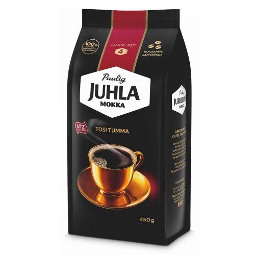 PAULIG JUHLA MOKKA TOSI TUMMA PAPU 450 G