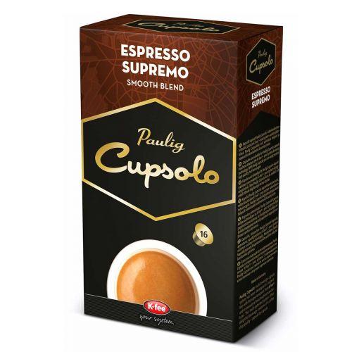 PAULIG CUPSOLO ESPRESSO SUPREME 16 KPL