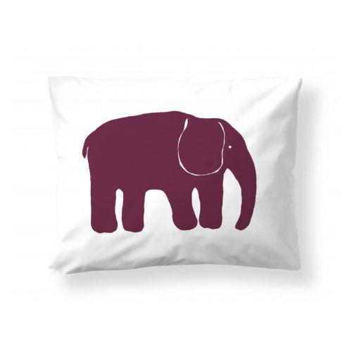 Finlayson tyynyliina Elefantti viininpunainen 50x60