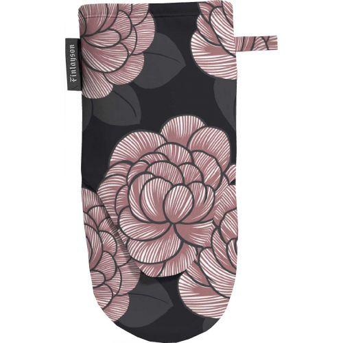 Finlayson Patakinnas Sylvi musta/roosa 15x30