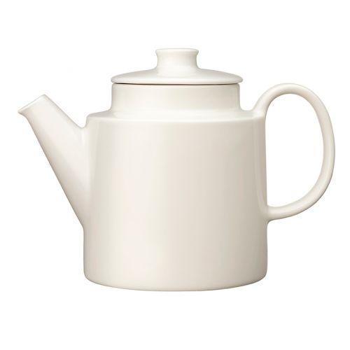 Iittala Teema teekannu kannella 1l valkoinen