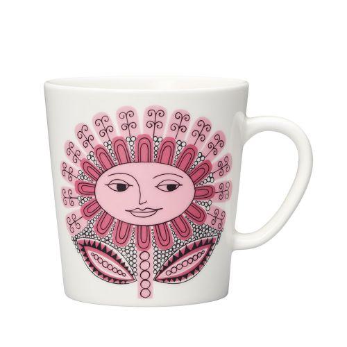 Arabia Daisy muki 0,3l roosa