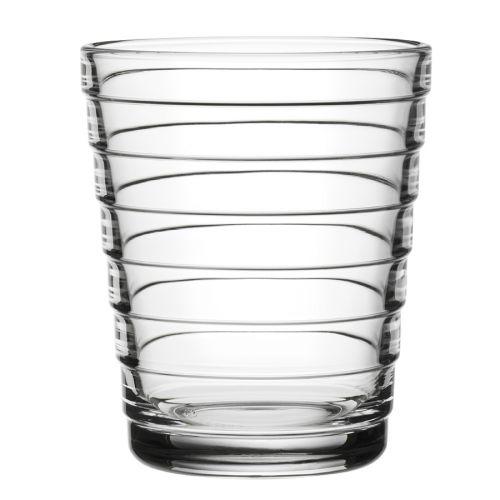 Iittala Aino Aalto juomalasi 22cl, kirkas 2kpl