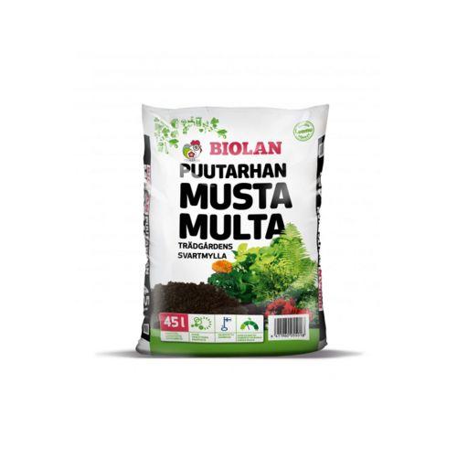 BIOLAN PUUTARHAN MUSTA MULTA 45 L 45 L