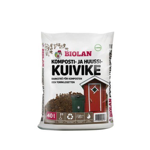 BIOLAN KOMPOSTI- JA HUUSSIKUIVIKE 40 L 40 L