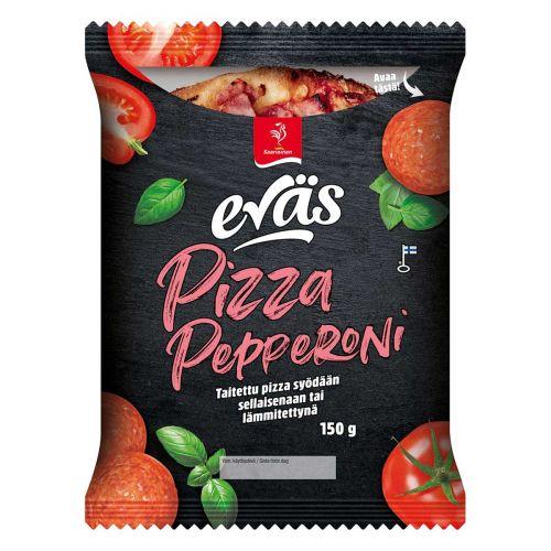 SAARIOINEN EVÄS PIZZA PEPPERONI 150 G