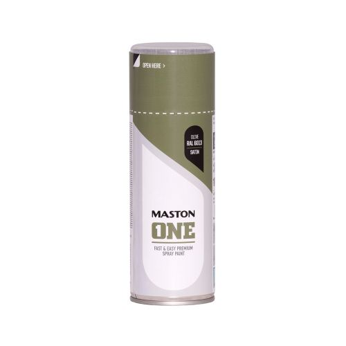 MASTON SPRAYMAALI ONE SATIINI OLIIVI RAL6013 400ML