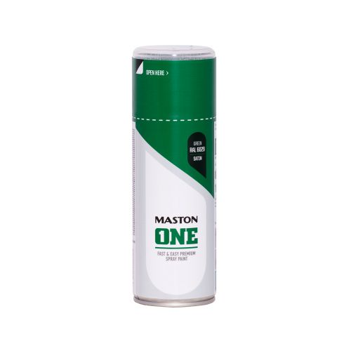 MASTON SPRAYMAALI ONE SATIINI VIHREÄ RAL6029 400ML