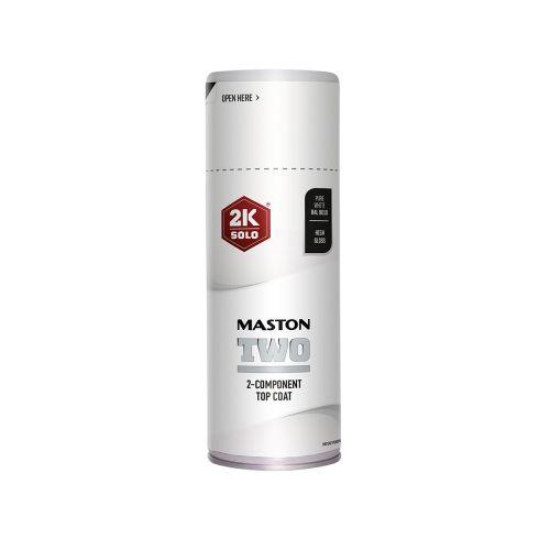 MASTON SPRAYMAALI 2K TWO PUHTAANVALKOINEN RAL9010 400ML 400