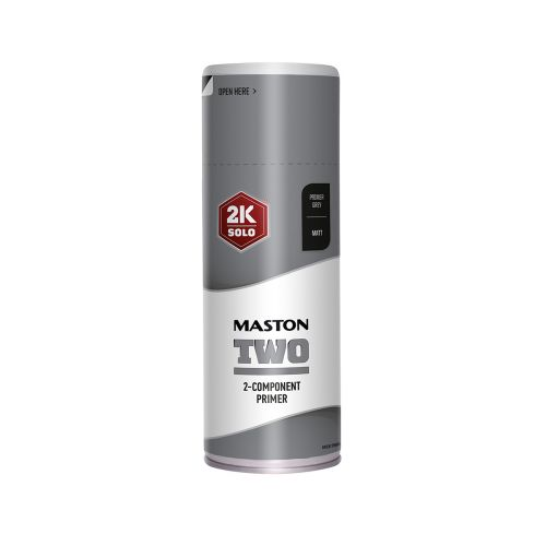 MASTON SPRAYMAALI 2K TWO POHJAMAALI HARMAA 400ML