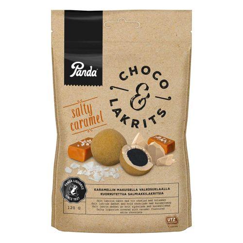 PANDA CHOCO&LAKRITS SALTY CARAMEL 120 G