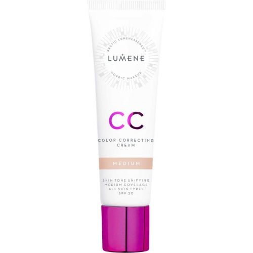 LUMENE CC COLOR CORRECTING MEIKKIVOIDE SK 20 MEDIUM
