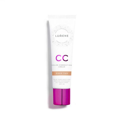 LUMENE CC COLOR CORRECTING MEIKKIVOIDE SK 20 DEEP TAN