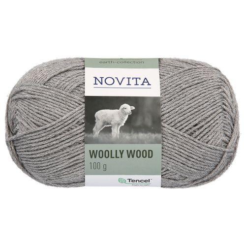 NOVITA WOOLLY WOOD 100G KIVI