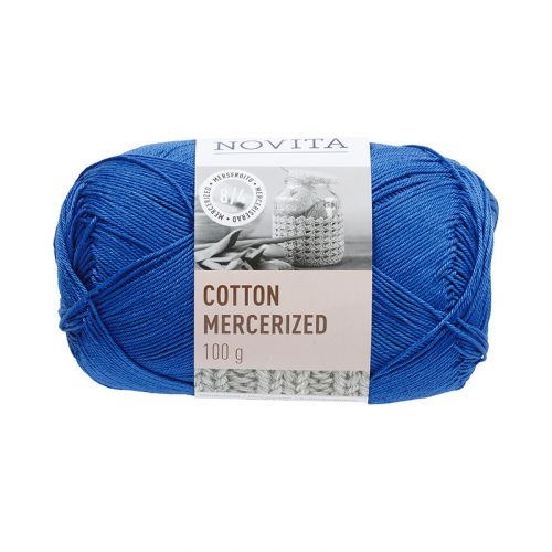 NOVITA COTTON MERCERIZED 100G RUISKAUNOKKI