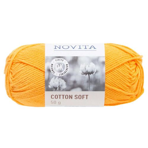 NOVITA COTTON SOFT 50G AURINGONKUKKA