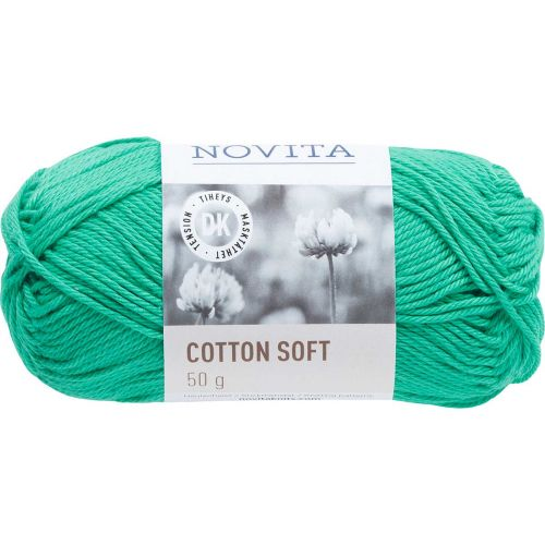 NOVITA COTTON SOFT 50G JADE