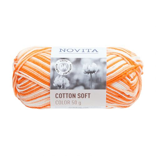 NOVITA COTTON SOFT COLOR 50G AURINKO