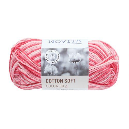 NOVITA COTTON SOFT COLOR 50G PIONI