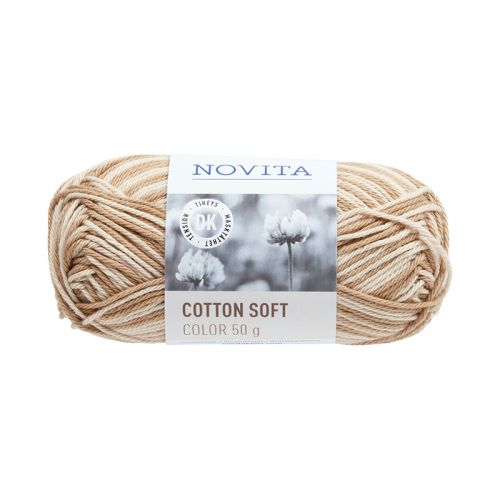 NOVITA COTTON SOFT COLOR 50G HIEKKA