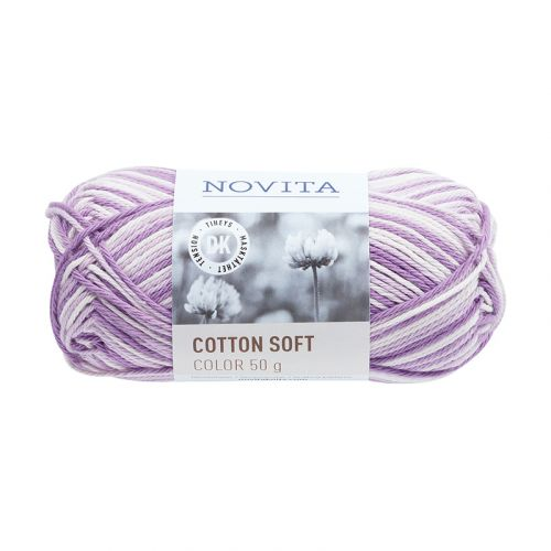 NOVITA COTTON SOFT COLOR 50G SYREENI