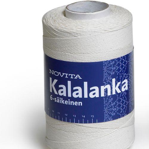 NOVITA KALALANKA 6-SÄIKEINEN 500G L.VALKOINEN