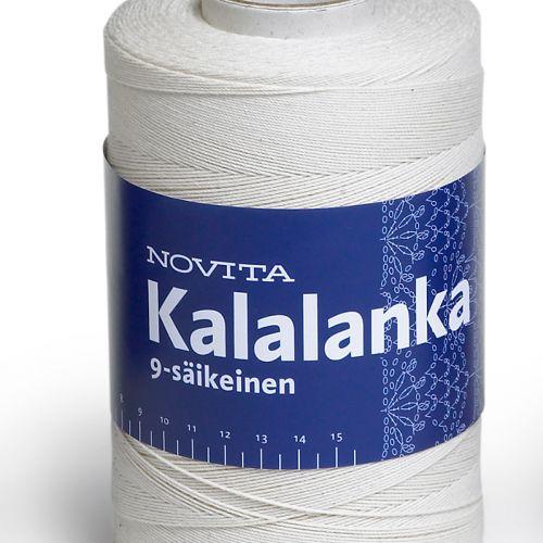 NOVITA KALALANKA 9-SÄIKEINEN 500G L. VALKOINEN