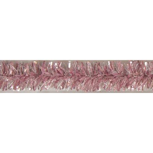 Weiste Fasettipunos opaaliroosa/lumipilkku 75mmx2m