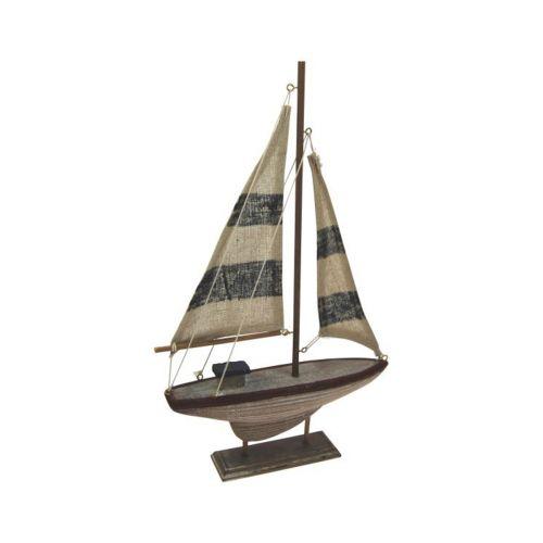 Vanha purjevene 29cm ant. valkosin