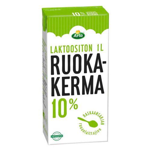ARLA LAKTON RUOKAKERMA 10% 1L