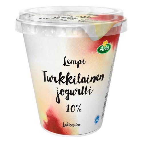 ARLA LEMPI TURKKILAINEN JOGURTTI 10% LAKTON 300 G