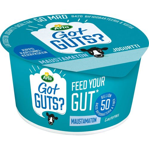 ARLA FEED YOUR GUT JOGURTTI MAUSTAMATON LAKTON 150 G
