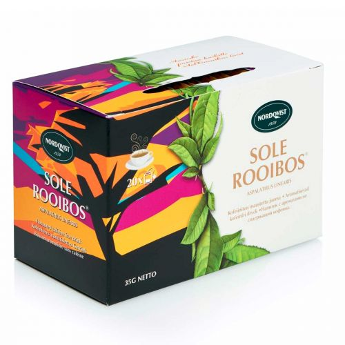 NORDQVIST SOLE ROOIBOS 20PS 35 G