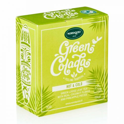 NORDQVIST GREEN COLADA HOT AND COLD 15PS 30 G