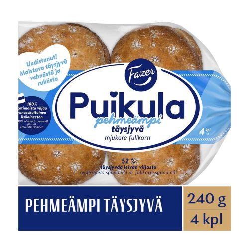 FAZER PUIKULA PEHMEÄMPI TÄYSJYVÄ 4KPL 240 G