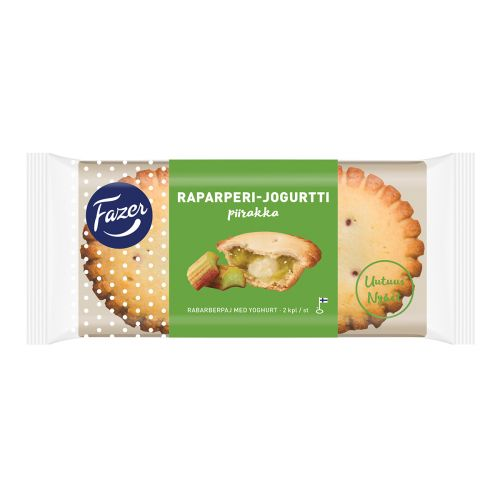 FAZER RAPARPERI-JOGURTTIPIIRAKKA 2KPL 140 G
