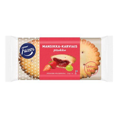 FAZER MANSIKKA-KARVIAISPIIRAKKA 2KPL 140 G