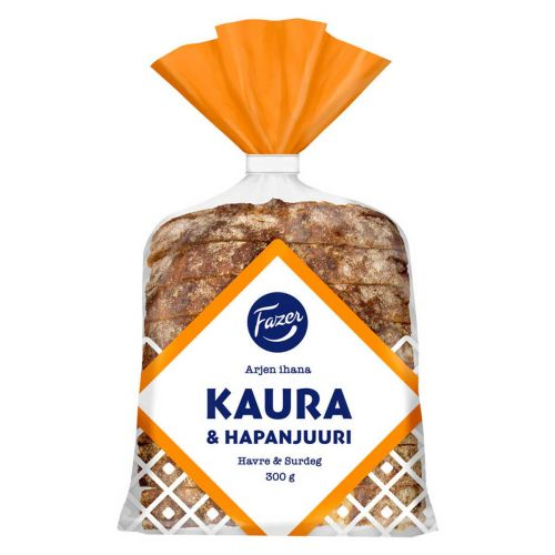 FAZER ARJEN IHANA KAURA&HAPANJUURI 300 G