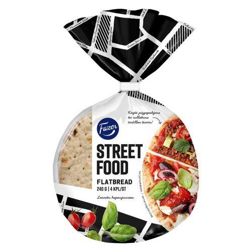 FAZER STREET FOOD FLATBREAD 4KPL 240 G