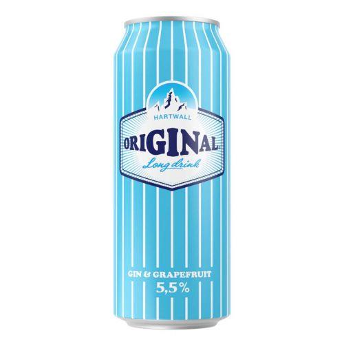 ORIGINAL LONG DRINK 5,5% GRAPEFRUIT TLK 500 ML