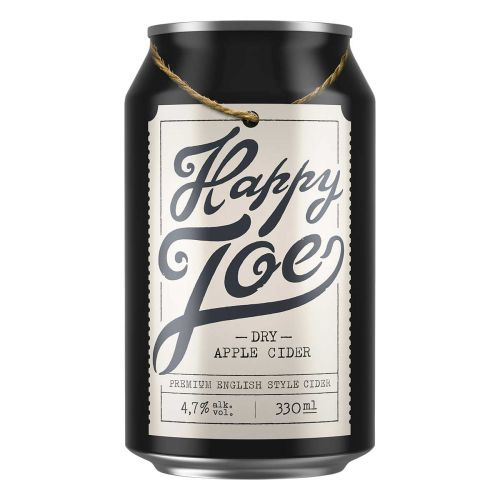HAPPY JOE 4,7% DRY APPLE TLK 330 ML