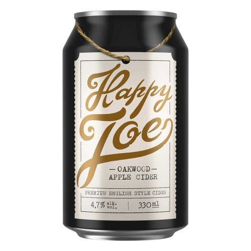 HAPPY JOE 4,7% OAKWOOD APPLE TLK 330 ML