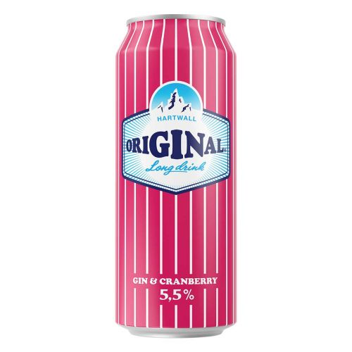 ORIGINAL LONG DRINK 5,5% CRANBERRY TLK 500 ML