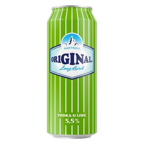 ORIGINAL LONG DRINK 5,5% VODKA-LIME TLK 500 ML