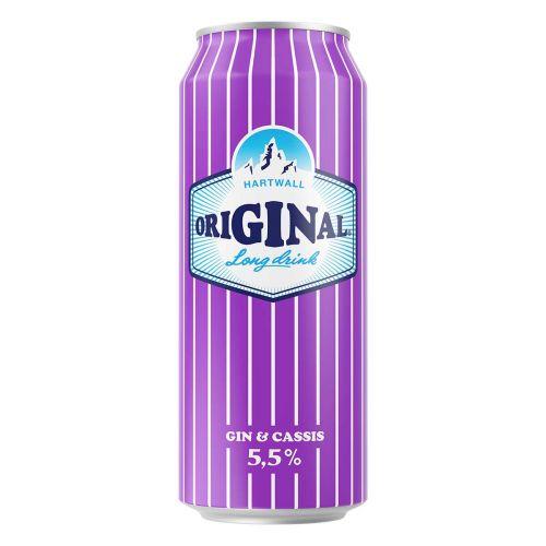 ORIGINAL LONG DRINK 5,5% CASSIS TLK 500 ML