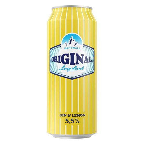 ORIGINAL LONG DRINK 5,5% LEMON TLK 500 ML